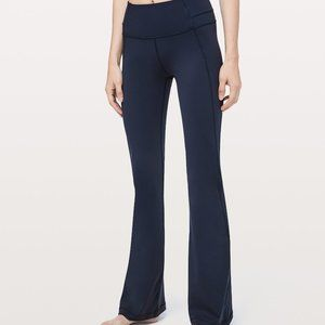 NEW Black Lululemon Groove Pant Flare